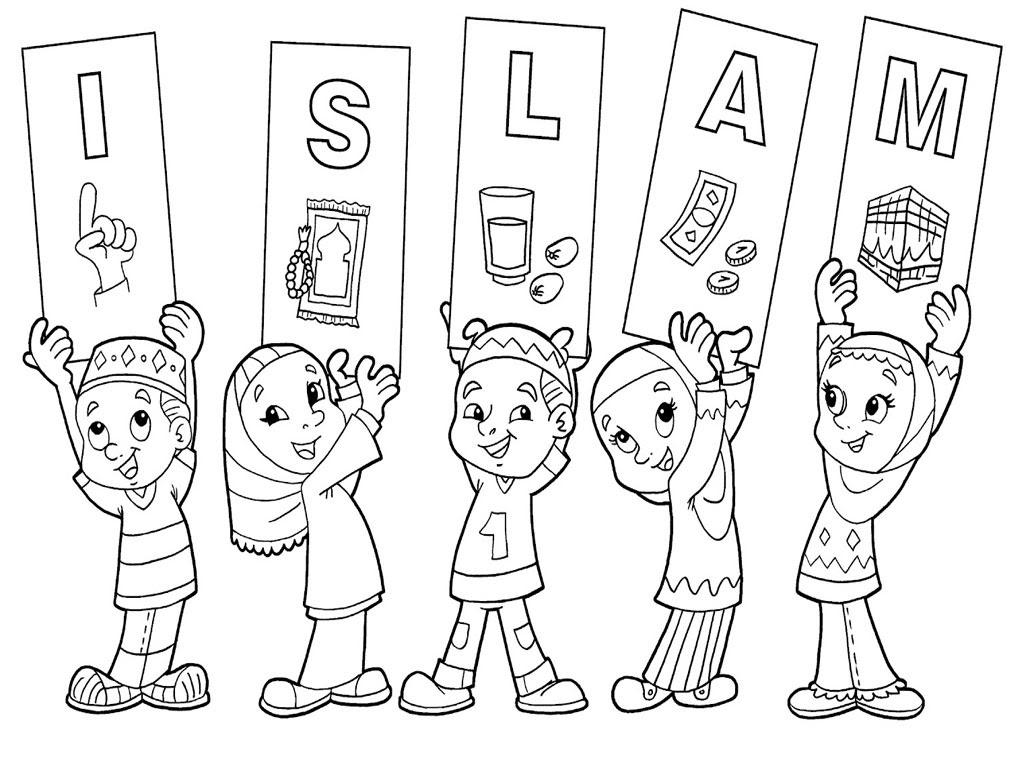 Pin Gambar Mewarnai Anak Indonesia Coloring Kamistad Auto