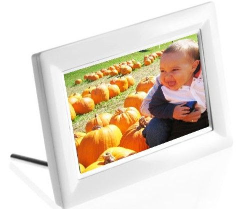 Philips 7ff3fpw Digital Photo Frame Lcd 7 Color Display Type