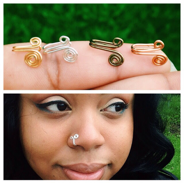 Buy This Fake It Til You Make It Temporary Nose Rings By Asilia