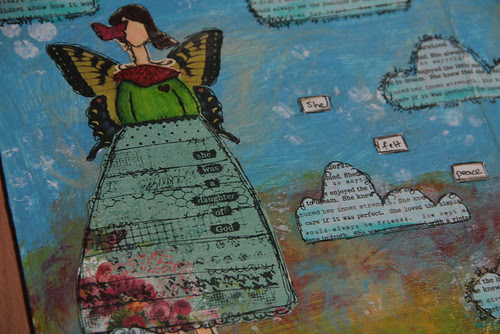 """""""Altered Book"""" NLB Project close-up"""