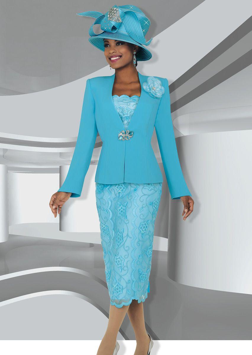 47726 Ben Marc Womens Church Suit S15