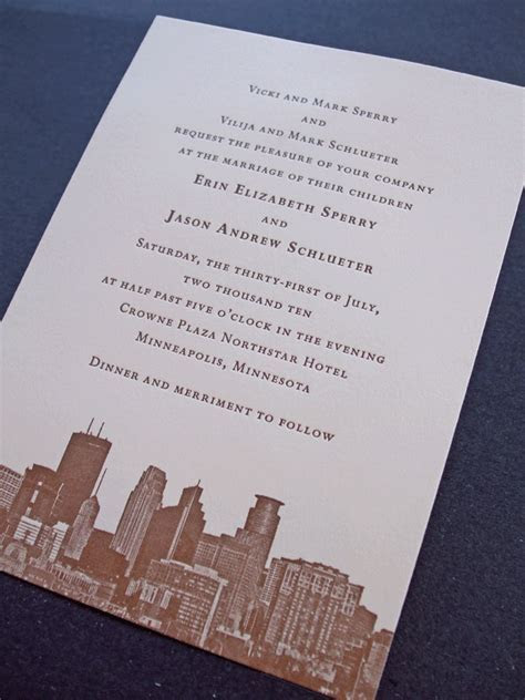 Letterpress Invitations Los Angeles
