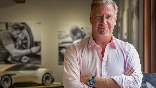Aston Martin's architect on how to make technology beautiful