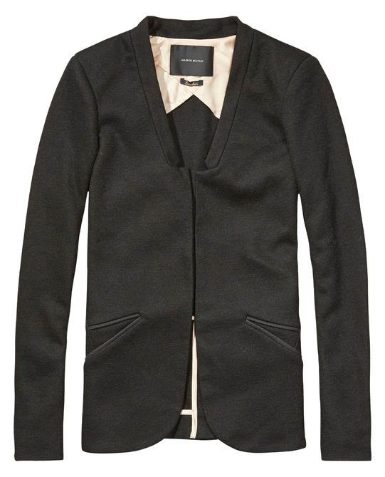 Maison Scotch Stretch Wool Mix Blazer
