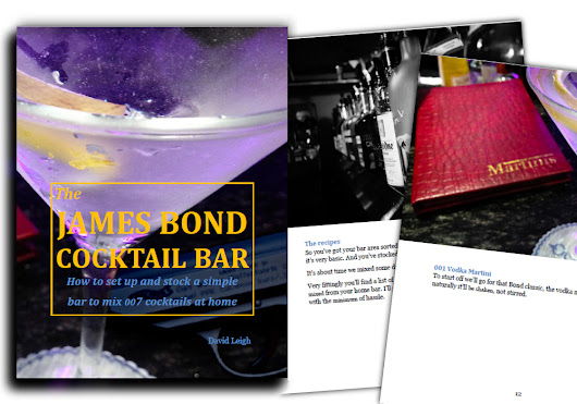 Free guide shows you how to stock & equip a basic home bar to mix 007 drinksGrab your FREE copy now - James Bond Drinks
