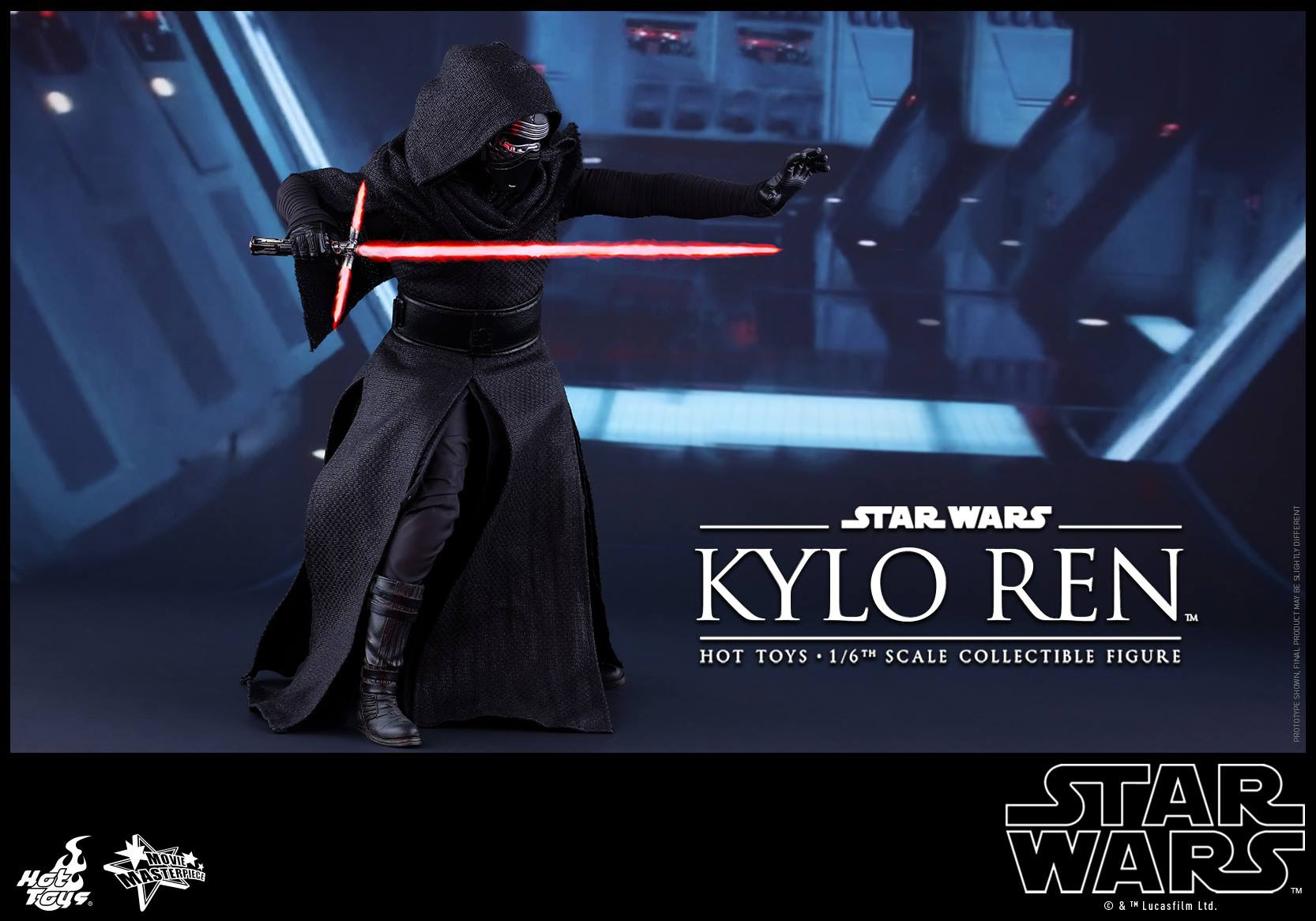 Star Wars Hot Toys Reveal Their 1 6th Scale First Order