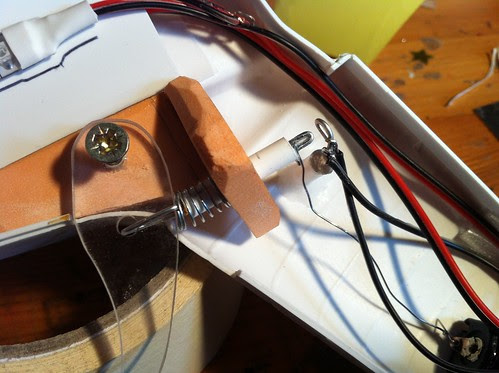 LED wiring/trigger mechanism