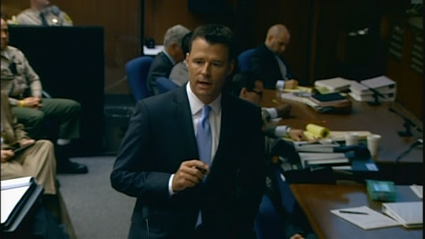 Deputy District Attorney David Walgren delivers opening statements on Sept. 27, 2011, in the trial of Dr. Conrad Murray, accused of killing Michael Jackson.