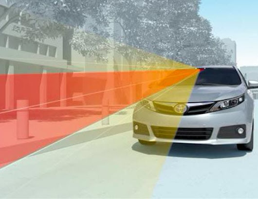 Automated Braking to Come Standard on Most Toyotas