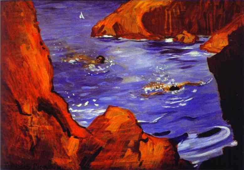 Francis Picabia - Les calanques