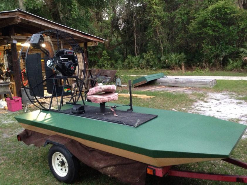 Rc Electric Airboat Plans Boat