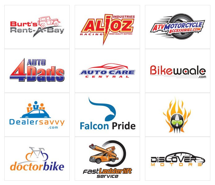 Automotive Logo Designs by DesignVamp® for $39