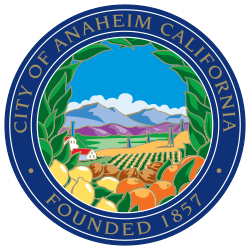 Official seal of Anaheim
