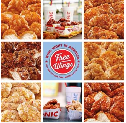 Sonic Deal Bogo Boneless Wings Southern Savers