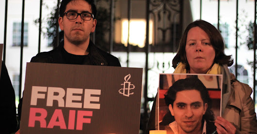 Stop Raif Badawi from being flogged