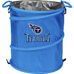 Logo Brand Collapsible 3-in-1 Trashcan Cooler - Tennessee Titans