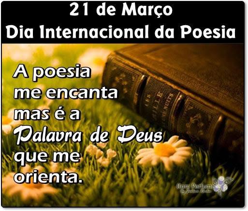 Dia Mundial da Poesia Imagem 2