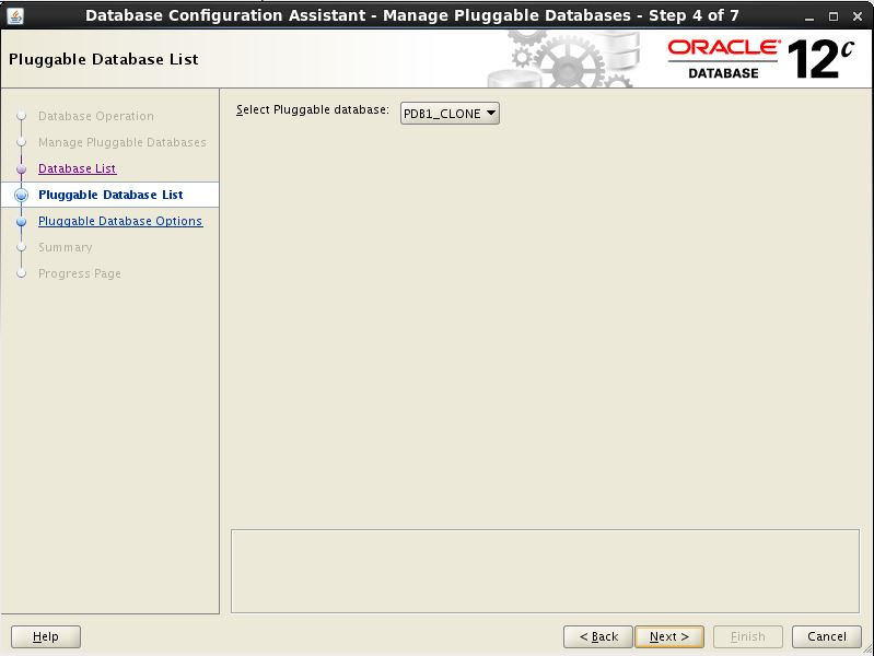 Configure PDB 3