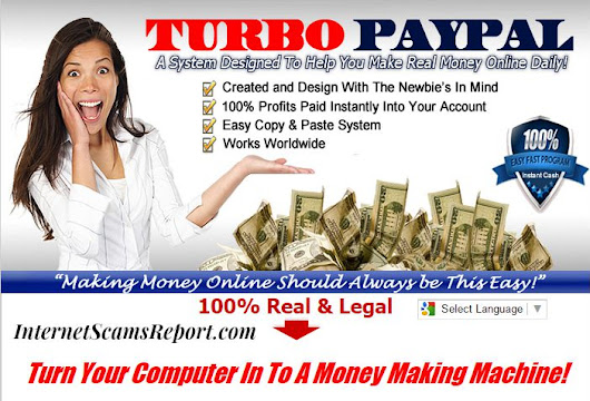 Is Turbo PayPal a Scam? - The Ultimate Piece of Crap  - Internet Scams Report