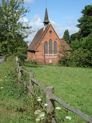 Church near Hemingfold Grange