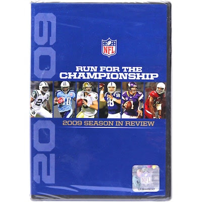 NFL Run for the Championship  The 2009 Season in Review DVD