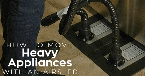 How to Move a Heavy Appliance with Airsled | Tiger Mechanical