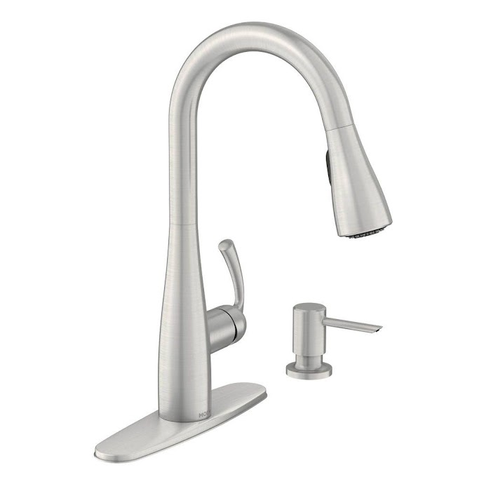 Moen Faucets Kitchen Stainless Steel
