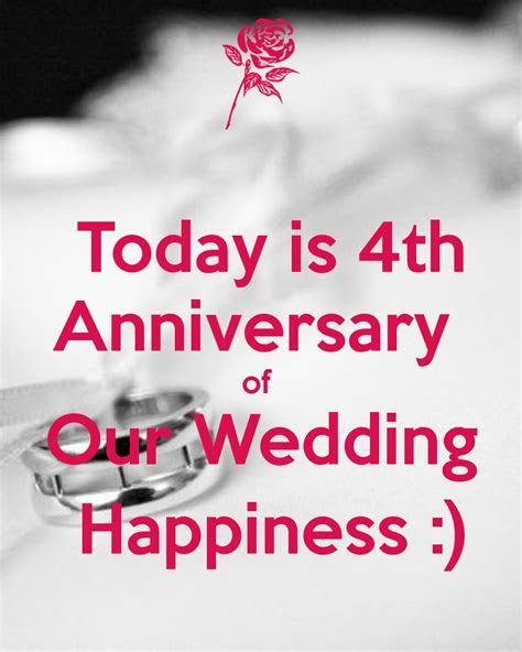 Today is 4th Anniversary of Our Wedding Happiness