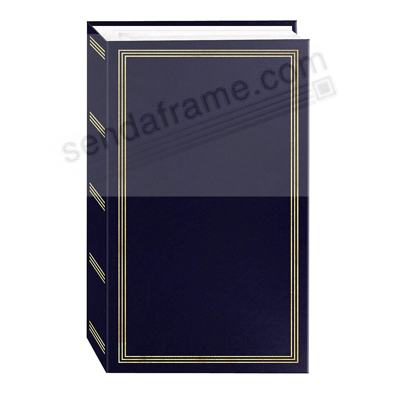 3 Ring Pocket Navy Blue Album For 500 Photos By Pioneer Picture