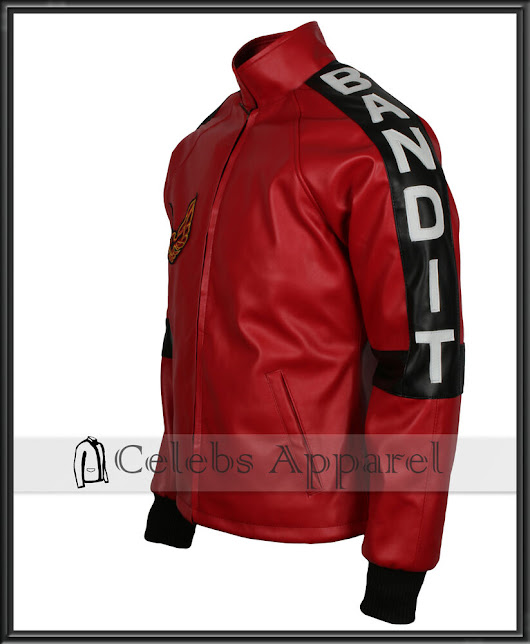 Red Smokey and The Bandit Out Mens Burt Reynolds Vintage Leather Biker Jacket | eBay