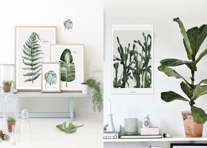 Focus Sur La Décoration Murale Dinspiration Végétale Decouvrirdesign