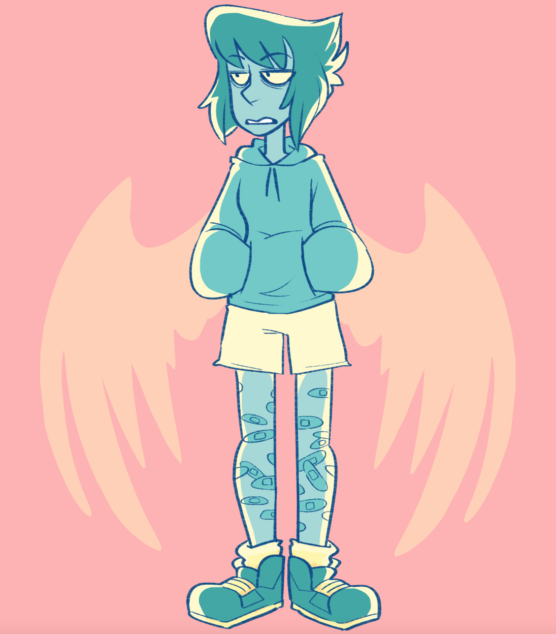 Was in a Colourful Lapis mood