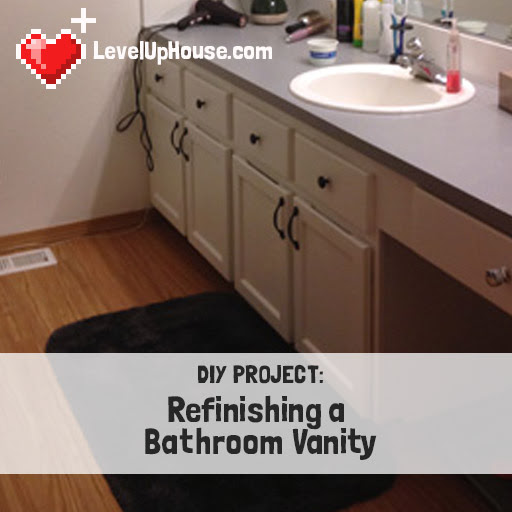 Refinish Bathroom Vanity Sink Image Of And Closet