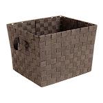 Whitmor 11924 15 x 15 x 20 in. Woven Basket Strap