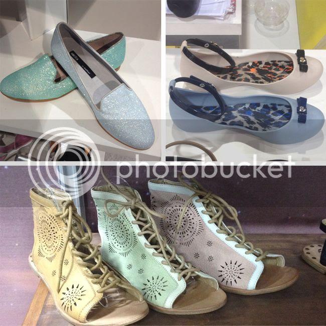 pastel footwear trend for spring 2014