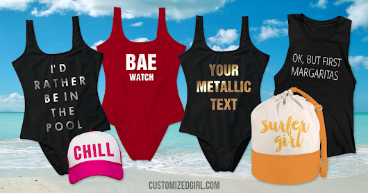 Make a Splash with Custom Swimsuits - CustomizedGirl Blog