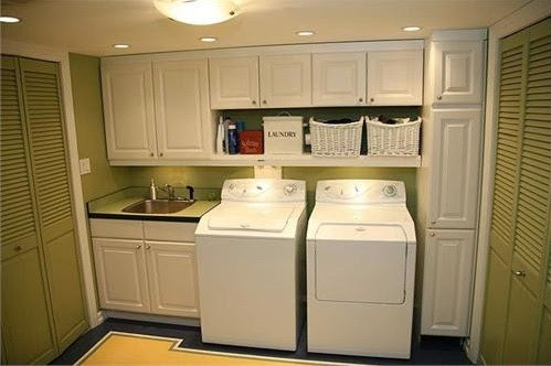 Laundry room Sink with Cabinet Model | Home Interiors