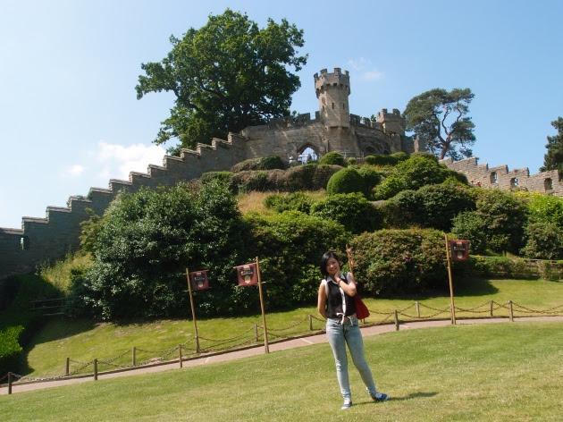 Warwick Castle at Warwickshire - Avon, England