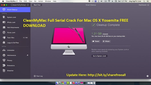 CleanMyMac 3.0.3 Final Serial Crack For Mac OS X-CleanMyMac 3 Activation Number
