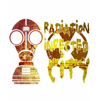 Radiation infected city (Low) shirt
