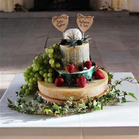 Cheese Celebration Cakes from Scotland