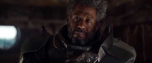 Saw Gerrera (Forest Whitaker) has seen war for far too long in ROGUE ONE: A STAR WARS STORY.