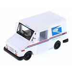 Long Live Postal Mail Delivery Vehicle, United States Postal Service (USPS) - Kinsmart 5112D - 1/34 Scale Diecast Model Toy Car