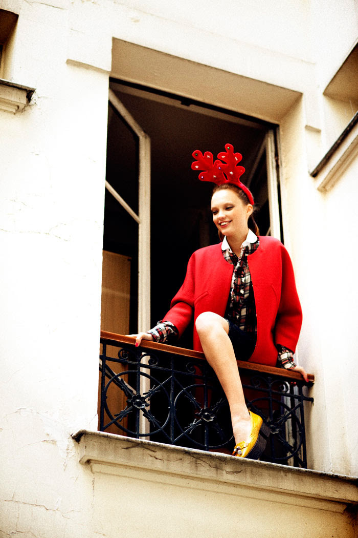 naty chabanenko8 Naty Chabanenko by Pierre Dal Corso for <em>LoveCat Magazine</em> #3