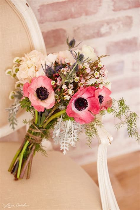 40 Anemone Wedding Ideas (Bouquets, Cakes and Invitations