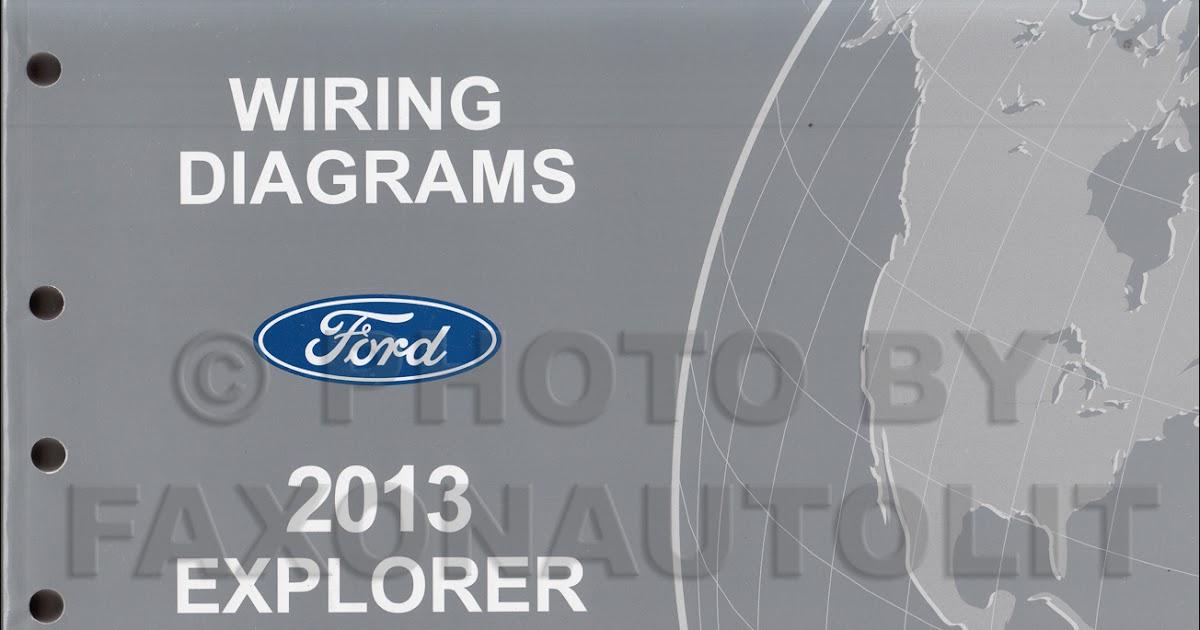 2013 Ford Explorer Wiring Diagram