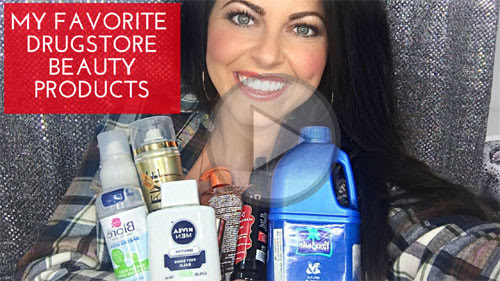 Drugstore Beauty Products 2016