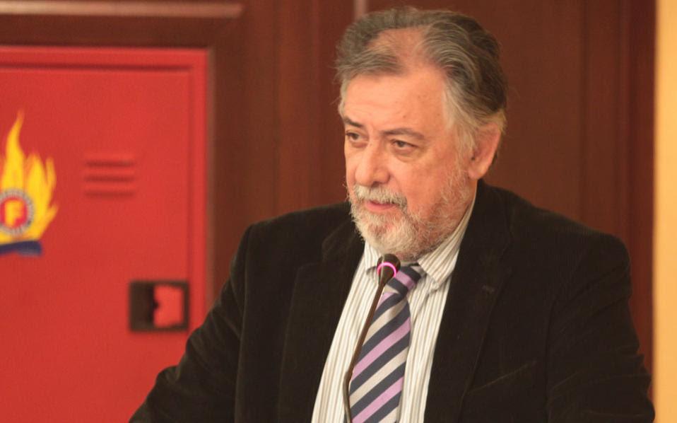 Ο αναπληρωτής υπουργός Προστασίας του Πολίτη κ. Γιάννης Πανούσης.