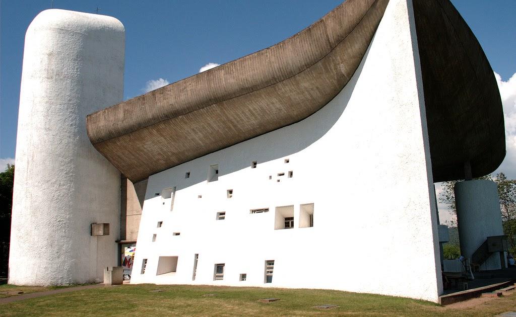 Petra dura architettura e contorni cappella di notre - Le corbusier tetto giardino ...
