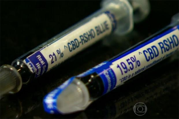 Medicamento Canabidiol tem substâncias derivadas da maconha (Foto: Reprodução/Globo)